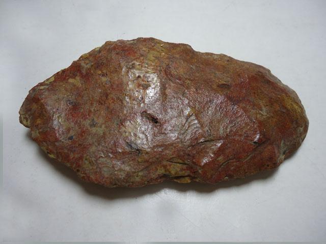 Material Lítico: talhador de pedra lascada