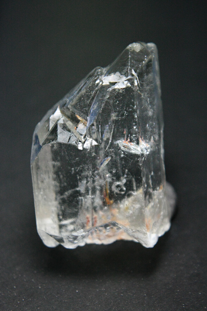 Topázio cristal biterminado