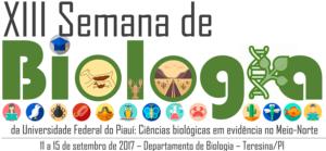 XIII Semana de Biologia da UFPI