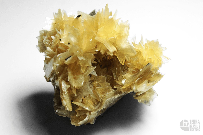 Mica amarela (Zinnwaldita) -2
